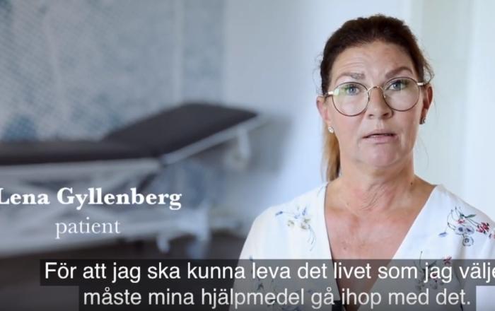 Foto film protes Lena Gyllenberg
