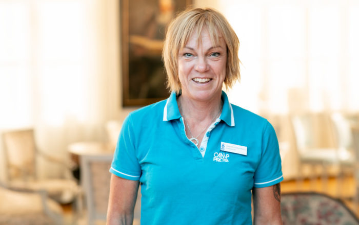 Jeanette Gleerup Miksits silikonspecialist Camp Pro Ortopedteknik