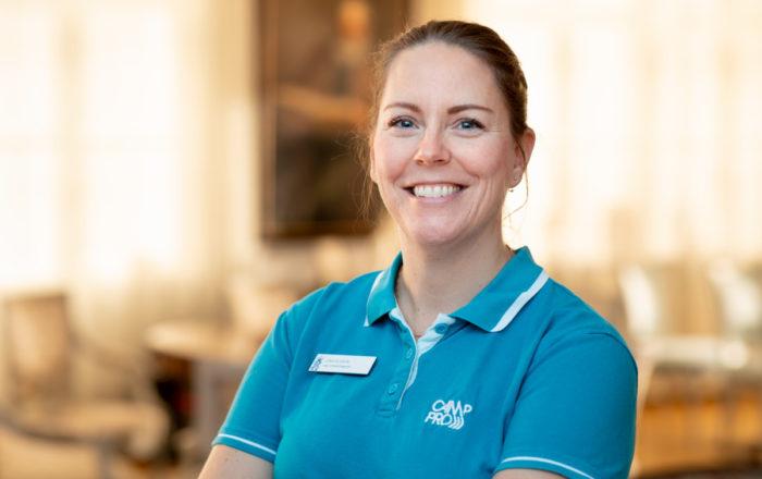 Lina Olsson leg. ortopedingenjör Camp Pro Ortopedteknik