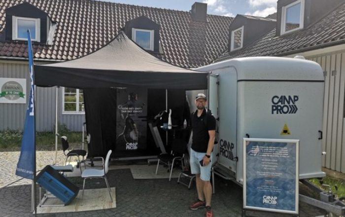 Camp Pro Skåne mobil klinik