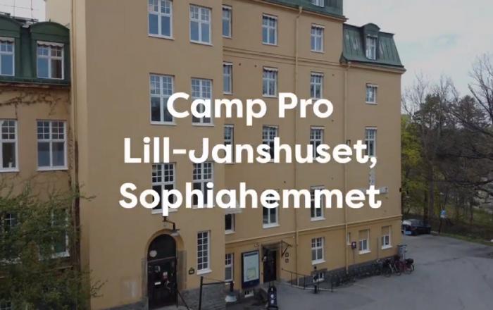 Camp Pro Ortopedteknik Lill-Janshuset Sophiahemmet